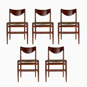 Dining Chairs by Gianfranco Frattini for Cassina, 1960s, Set of 5