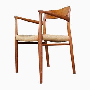 Mid-Century Model 57 Teak Chair by Niels O. Møller for J.L. Møllers, 1950s