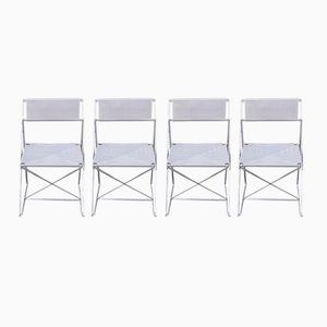 Chaises de Salon X-Line Vintage par Niels Jørgen Haugesen pour Hybodam, Set de 4