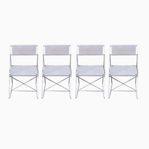 Vintage X-Line Esszimmerstühle von Niels Jørgen Haugesen für Hybodam, 4er Set