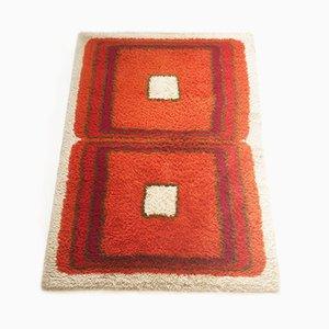Tappeto Rya di lana di Hojer Eksport Wilton, anni '60