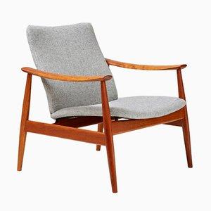 FD-138 Teak Lounge Chair by Finn Juhl for France & Søn, 1950s