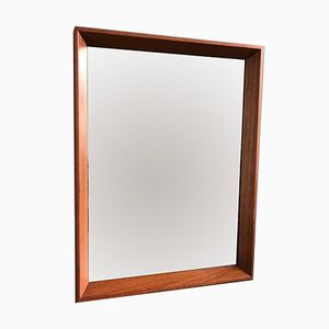 567 Rectangular Wooden Mirror, 1960s