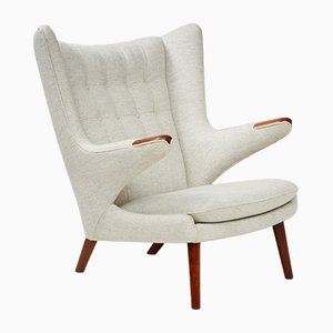 AP-19 Papa Bear Chair by Hans J. Wegner for A.P. Stolen, 1950s