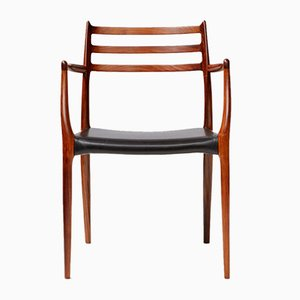 Model 62 Rosewood Armchair by Niels Otto Møller for J.L. Møllers, 1960s
