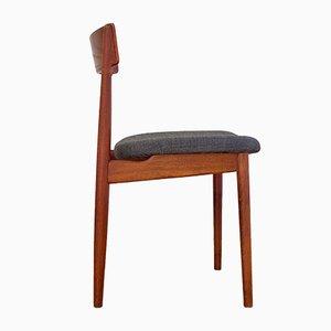 Sedia di Henry Rosengren Hansen per Brande Mobelindustri, Danimarca, anni '60