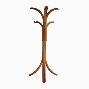 Geschnitzter Holz Garderobenständer von Giovanni Offredi für Crassevig, 1980er