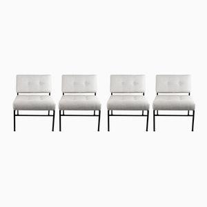Italian Lounge Chairs, 1960s, Set of 4