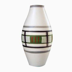 Deutsche Fat Lava Vase aus Keramik von Scheurich, 1960er