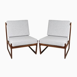 Lounge Chairs by Peter Hvidt for France & Søn, 1960s