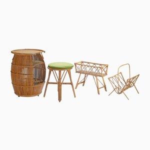 Set da giardino di Adrien Audoux e Frida Minet, anni '50