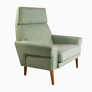 Mid-Century Danish High Back Lounge Chair, 1970s