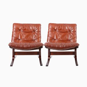 Norwegian Lounge Chairs by Ingmar Relling for Westnofa, 1960s, Set of 2