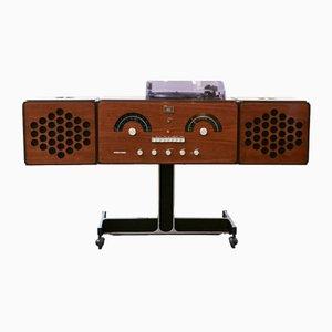 RR126 Radiofonografo von Pier Giacomo & Achille Castiglioni für Brionvega, 1965