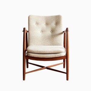 BO-59 Fireplace Chair by Finn Juhl for Bovirke, 1950s