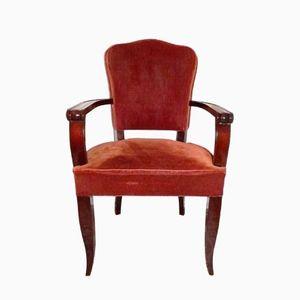 Mid-Century Bridge Chairs from Gaston Poisson, 1950s, Set of 2