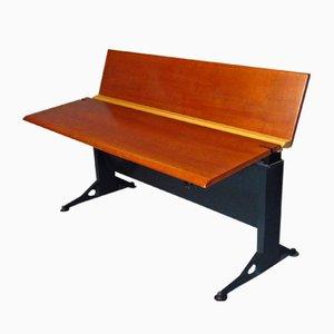 Beech Veneered Adjustable Desk by Geoff Hollington for Herman Miller, 1970s