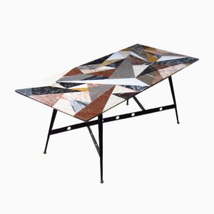 Coffee Table by Pietra Dura, 1950s