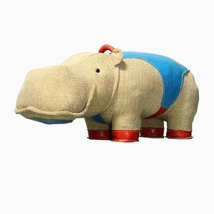 Mocky Hippo Therapie Spielzeug von Renate Müller für VEB Sonni, 1970er
