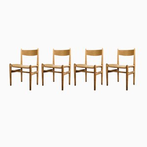 Mid-Century CH36 Chairs by Hans Wegner for Carl Hansen & Søn, Set of 4