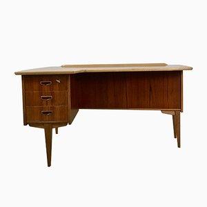 Schwedischer Modell A10 Schreibtisch von Göran Strand für Lelångs Möbelfabrik, 1960er