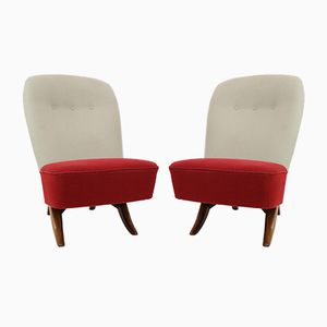 Dutch Congo Chairs by Theo Ruth for Artifort, 1950s, Set of 2