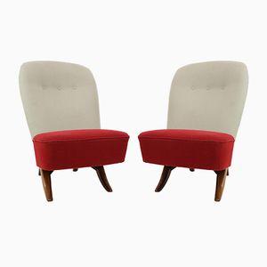 Niederländische Congo Chairs von Theo Ruth für Artifort, 1950er, 2er Set