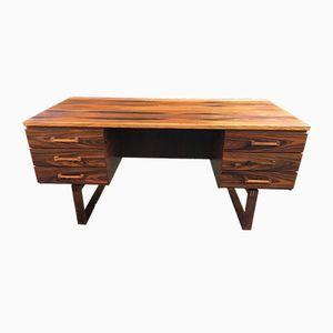 Mid-Century Rosewood Desk by Thorben Valeur & Henning Jensen, 1960s