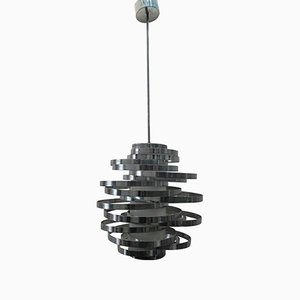 Cyclone Chandelier by Gaetano Sciolari, 1970s