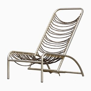 Sandow Chair by René Herbst for Formes Nouvelles, 1950s