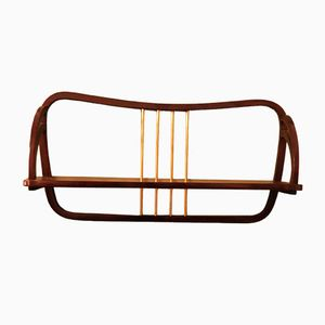 Vintage Wall Mounted Shelf from Thonet