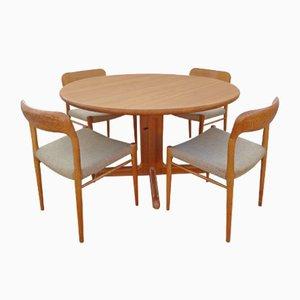 Set de Salle à Manger et Chaises en Chêne par Niels Otto (N. O.) Møller, Danemark, 1960s