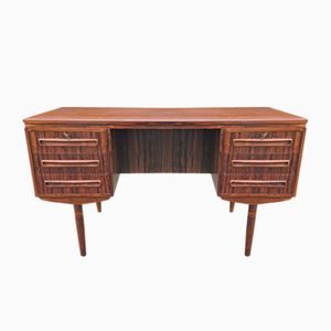Danish Rosewood Desk from A. P. Møbler, 1960s