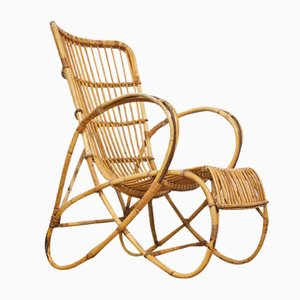 Bamboo Porch Chair, 1960s