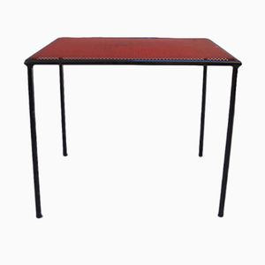 Red & Black Table by Floris Fiedeldij for Artimeta, 1950s