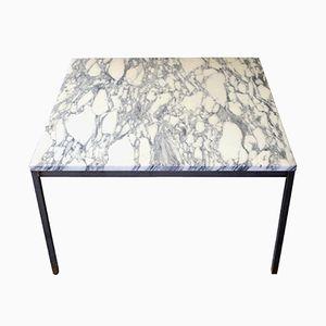 Carrara Marmor Couchtisch von Florence Knoll für Knoll, 1970er