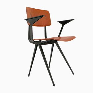 Vintage Result Office Armchair by Friso Kramer for Ahrend de Cirkel