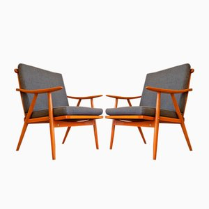 Vintage Czech Chairs from Ton, 1960s, Set of 2