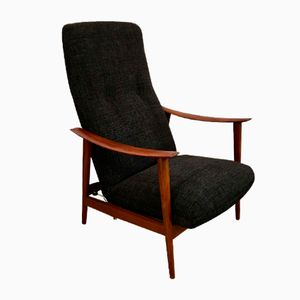Vintage Scandinavian Reclining Armchair