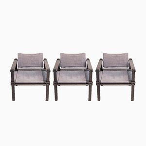 Lounge Chair by Gerd Lange for Bofinger, 1960s, Set of 3