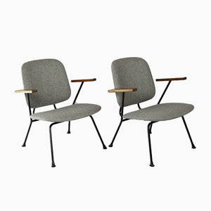 Easy Chairs by Willem Hendrik Gispen for Kembo, 1950s