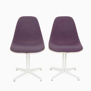 Vintage La Fonda Gestell Stühle von Charles & Ray Eames für Herman Miller, 2er Set
