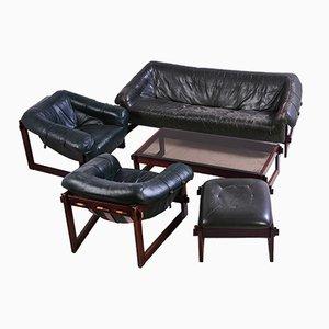 Set de Salon par Percival Lafer pour Lafer Furniture, Brésil, 1960s