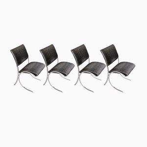 Esszimmerstühle von Maison Jansen, 1960er, 4er Set