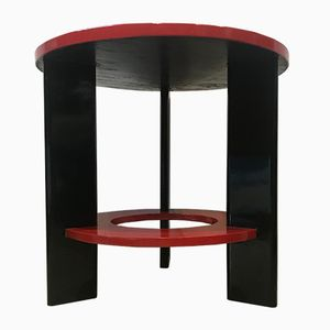 Vintage Futurist Spruce Coffee Table by Osvaldo Borsani