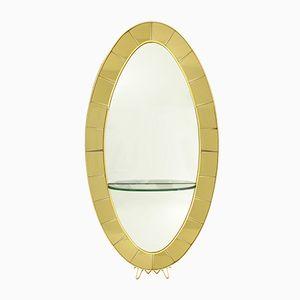 Specchio modello 2690 di Cristal Art, Italia, anni '50