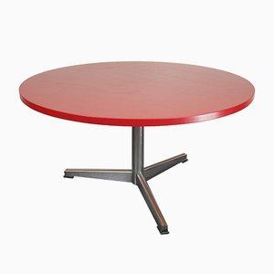 Table Basse Vintage Rouge, France, 1960s