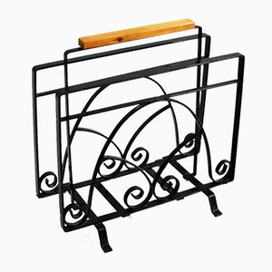 Metal Newspaper Rack, 1970s