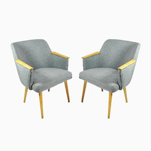 Belgian Armchairs, 1960s, Set of 2