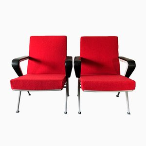 Repose Chairs by Friso Kramer for Ahrend De Cirkel, 1972, Set of 2